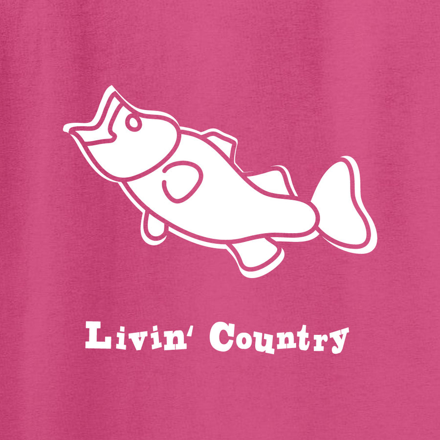 Kid's Livin' Country Bass T-shirt