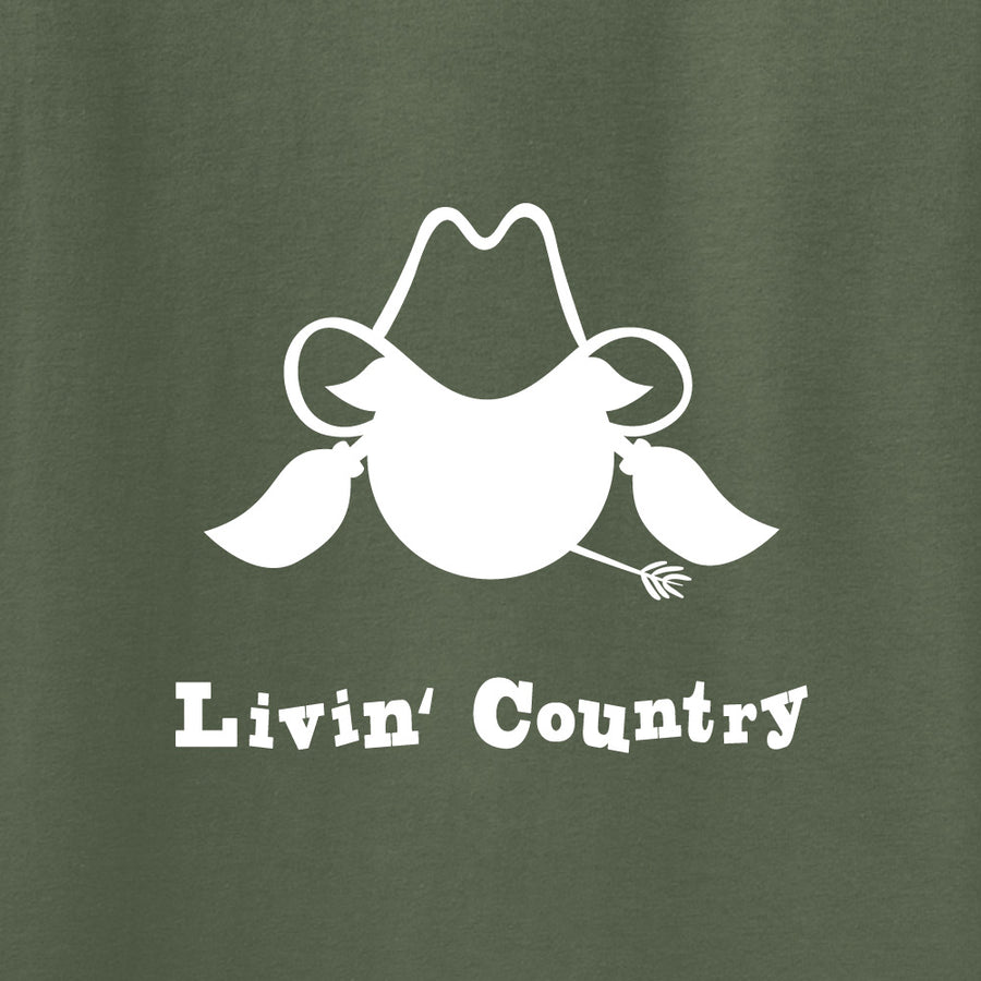 Adult Livin' Country Cowgirl Hoodie