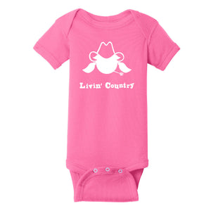 Infant Livin' Country Cowgirl Onesie