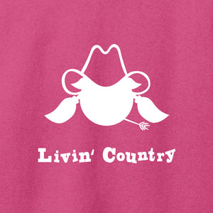 Women's Livin' Country Cowgirl T-shirt