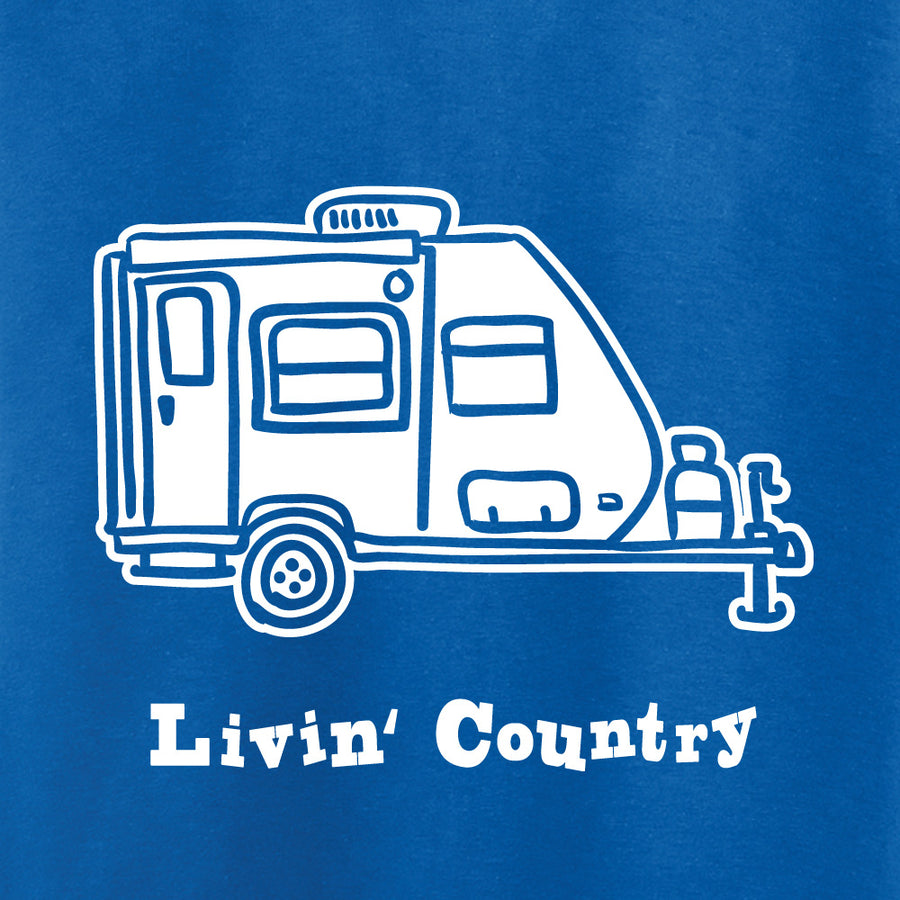 Kid's Livin' Country Camper T-shirt