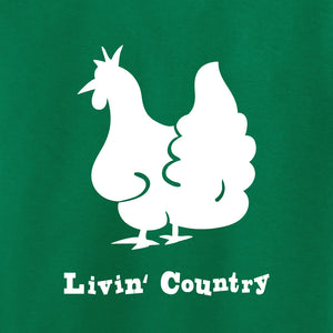 Toddler Livin' Country Chicken T-shirt
