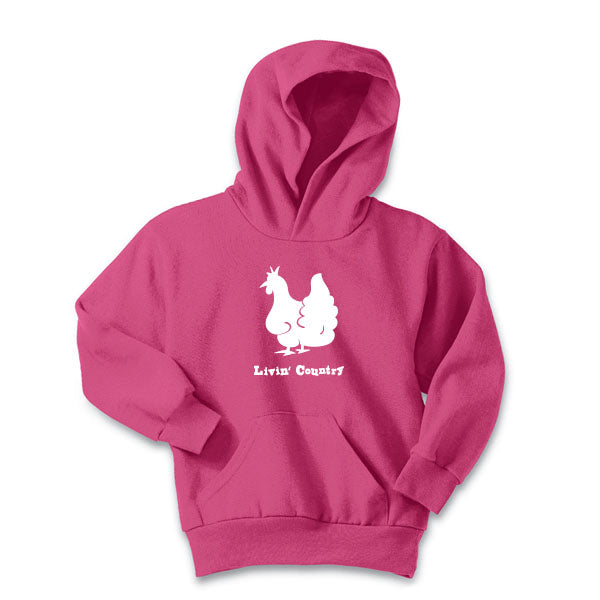 Youth Livin' Country Chicken Hoodie