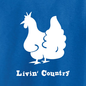 Kid's Livin' Country Chicken T-shirt