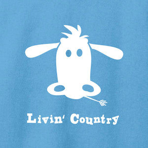 Women's Livin' Country Cow T-shirt
