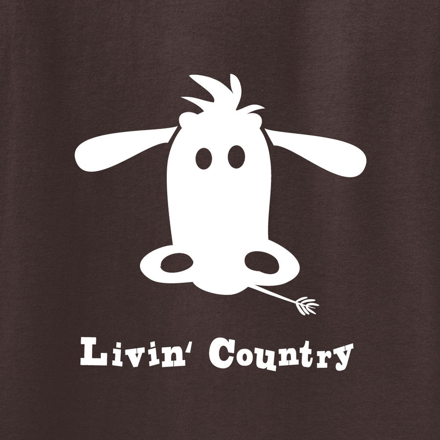 Kid's Livin' Country Cow T-shirt