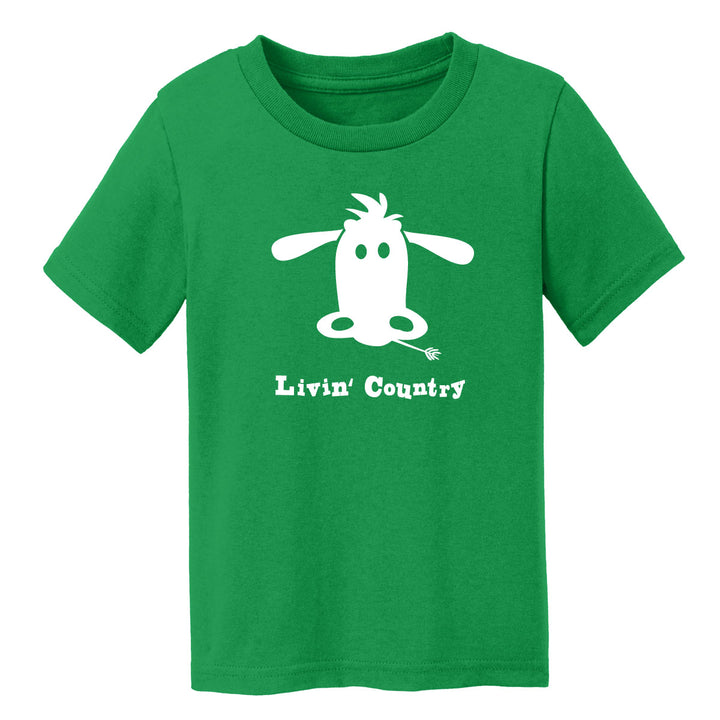Toddler Livin' Country Cow T-shirt