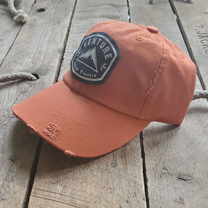 Livin' Country Venture Mountain Distressed Patch Hat