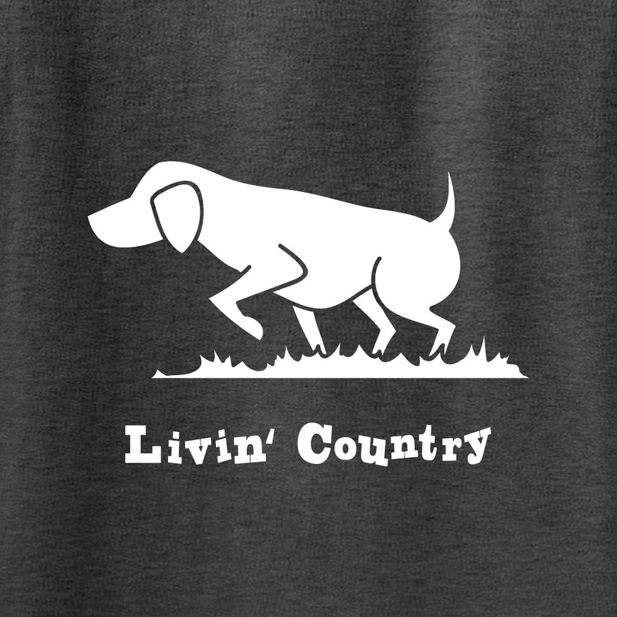 Adult Livin' Country Dog Hoodie