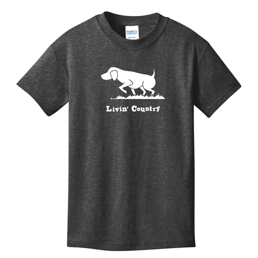 Kid's Livin' Country Dog T-shirt