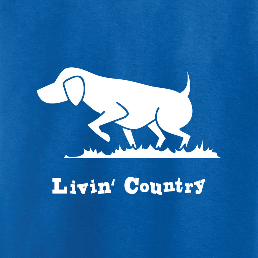 Toddler Livin' Country Dog T-shirt