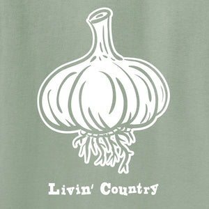 Adult Livin' Country Garlic T-shirt
