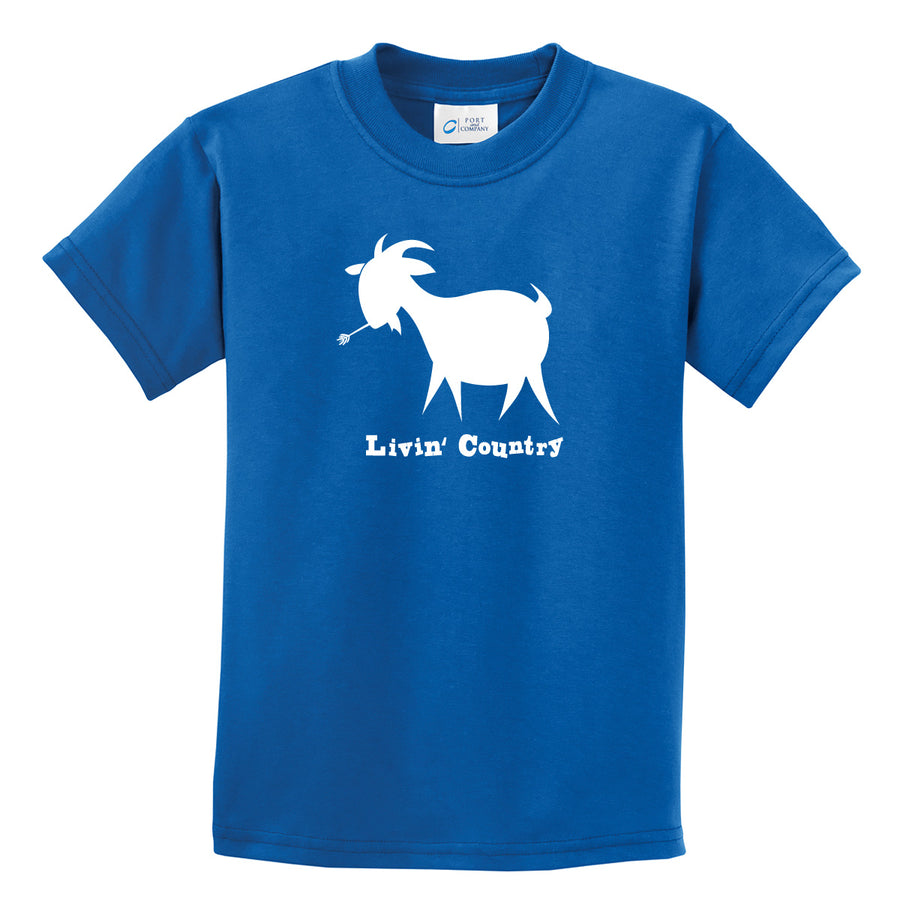 Kid's Livin' Country Goat T-shirt