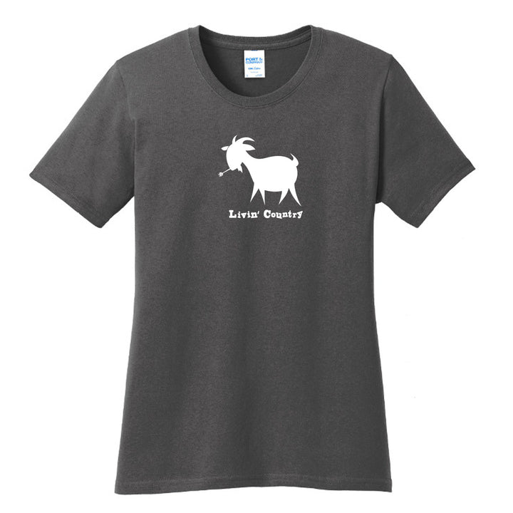 Women's Livin' Country Goat T-shirt