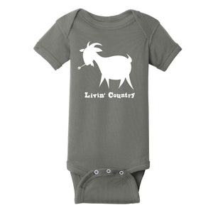 Infant Livin' Country Goat Onesie