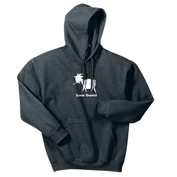 Adult Livin' Country Goat Hoodie