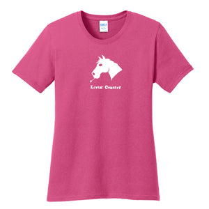 Women's Livin' Country Horse T-shirt
