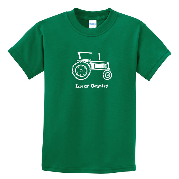 Kid's Livin' Country Tractor T-shirt