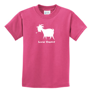 Kid's Livin' Country Goat T-shirt - Livin' Country Apparel & Accessories  - 1