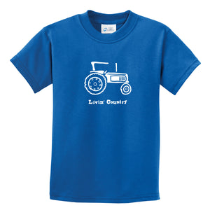 Kid's Livin' Country Tractor T-shirt - Livin' Country Apparel & Accessories  - 7