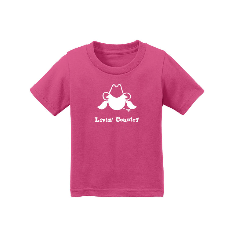 Infant Livin' Country Cowgirl T-shirt
