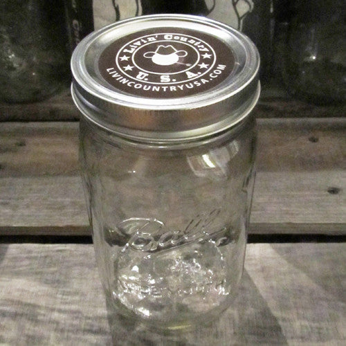 Mason Jar Gift Wrapping - Livin' Country Apparel & Accessories