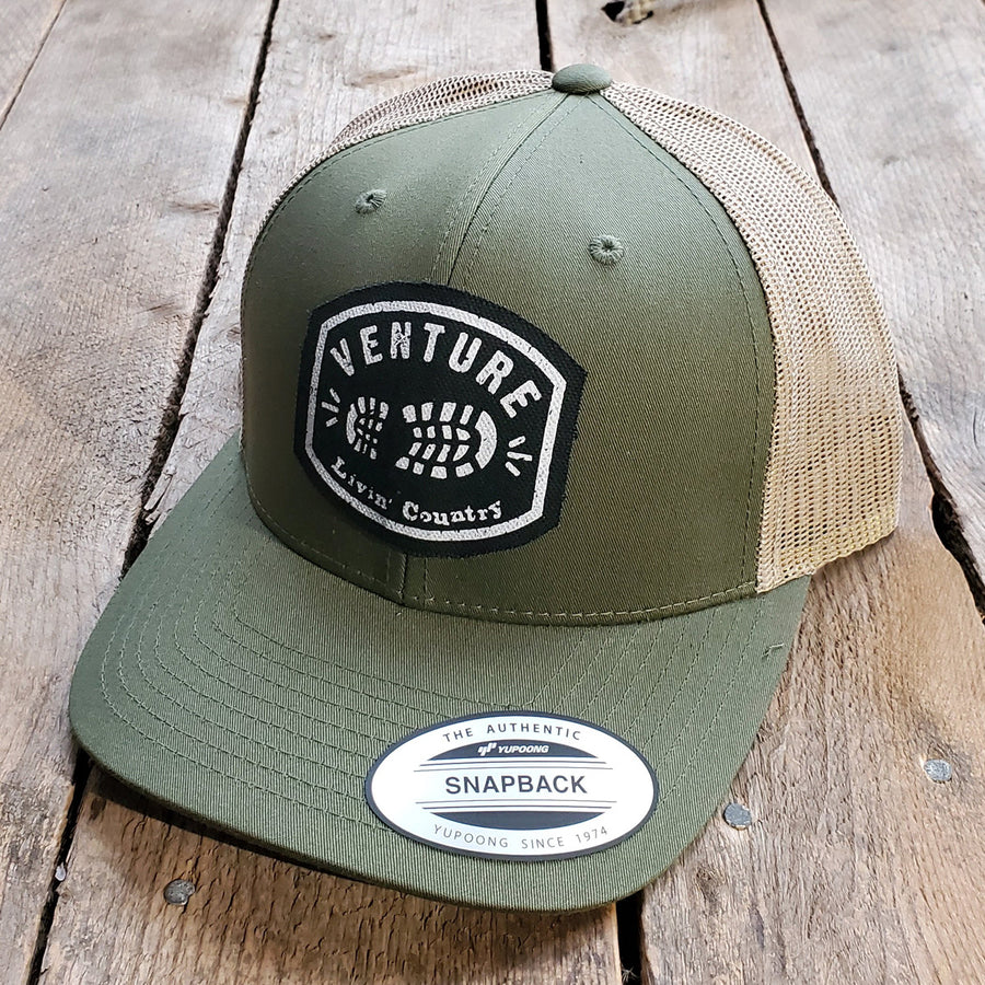 Livin' Country Venture Boot Snapback Cap
