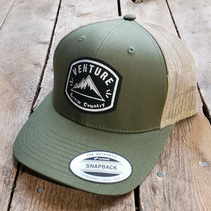 Livin' Country Venture Mountain Snapback Cap