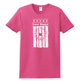 Women's Livin' Country Barn Board T-shirt