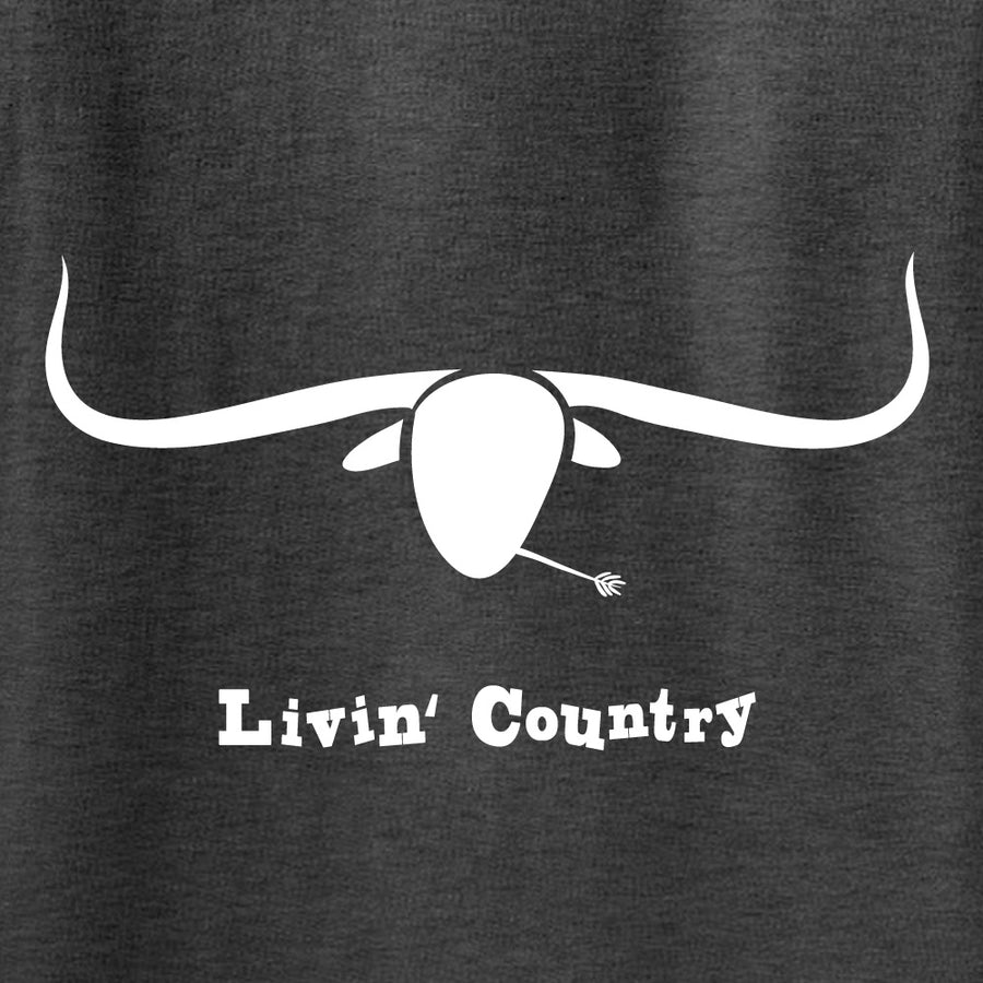 Kid's Livin' Country Longhorn T-shirt