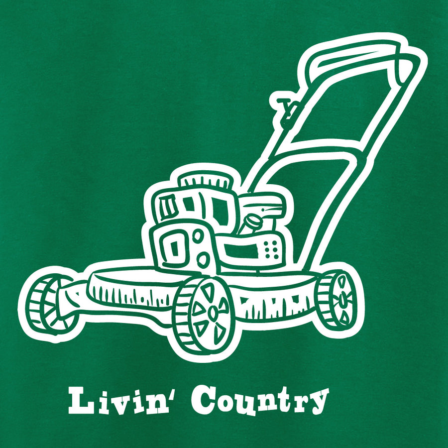 Kid's Livin' Country Lawn Mower T-shirt