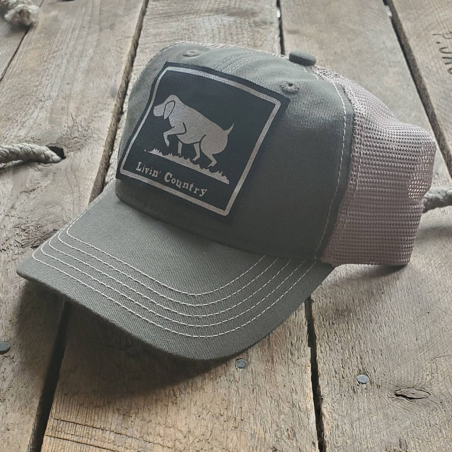 Livin' Country Dog Mesh Patch Hat