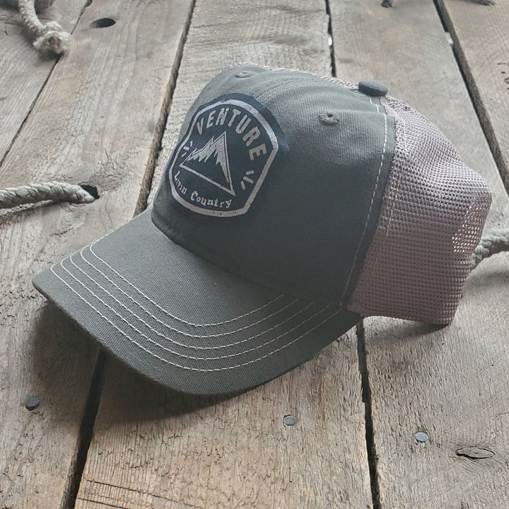 Livin' Country Venture Mountain Olive Mesh Patch Hat