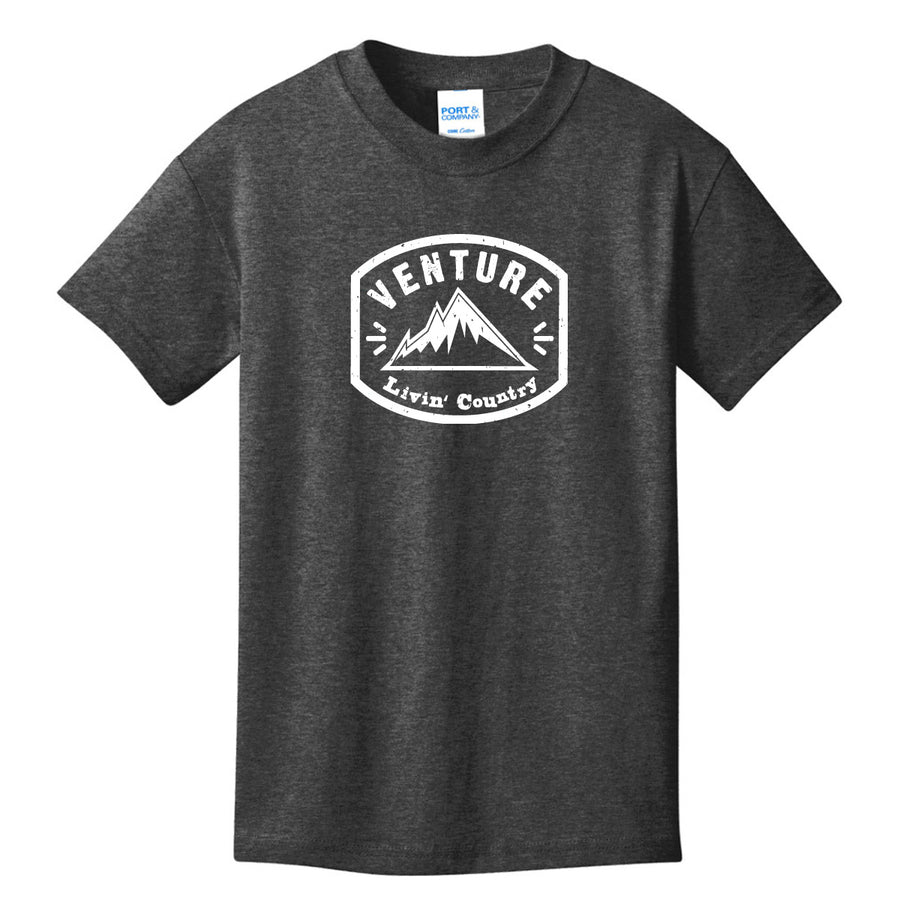 Kid's Livin' Country Venture Mountain T-shirt