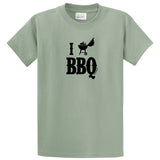 Adult Livin' Country I Love BBQ T-shirt - Livin' Country Apparel & Accessories  - 5