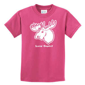 Kid's Livin' Country Moose T-shirt