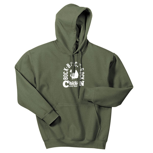Adult Livin' Country Barnyard Chicken Hoodie