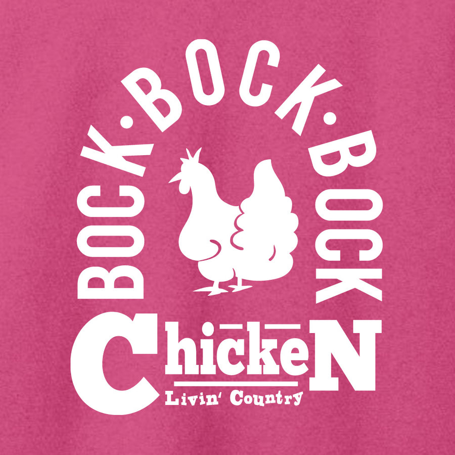 Women's Livin' Country Barnyard Chicken T-shirt
