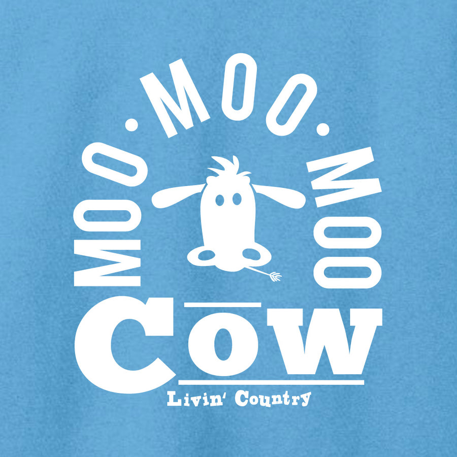 Women's Livin' Country Barnyard Cow T-shirt