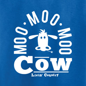 Toddler Livin' Country Barnyard Cow T-shirt