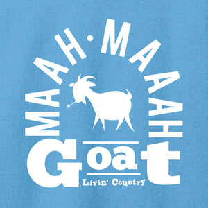 Women's Livin' Country Barnyard Goat T-shirt