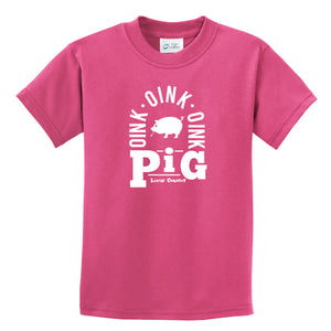 Kid's Livin' Country Barnyard Pig T-shirt