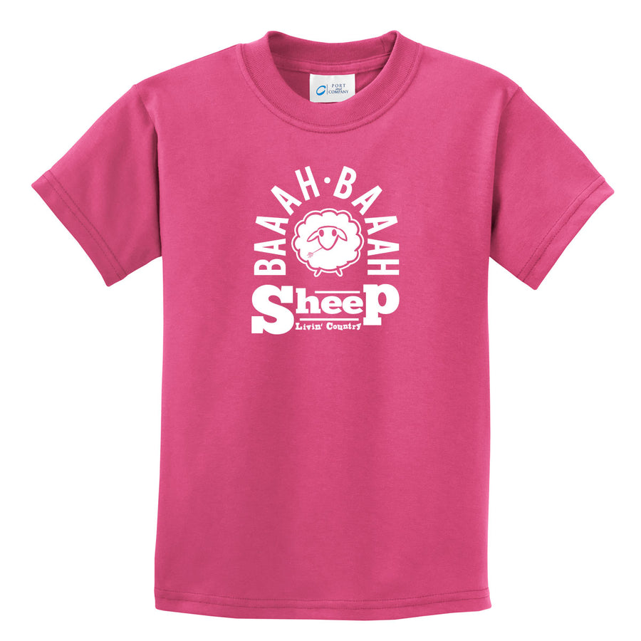 Kid's Livin' Country Barnyard Sheep T-shirt