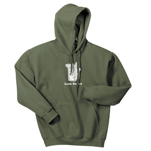 Adult Livin' Country Outhouse Hoodie