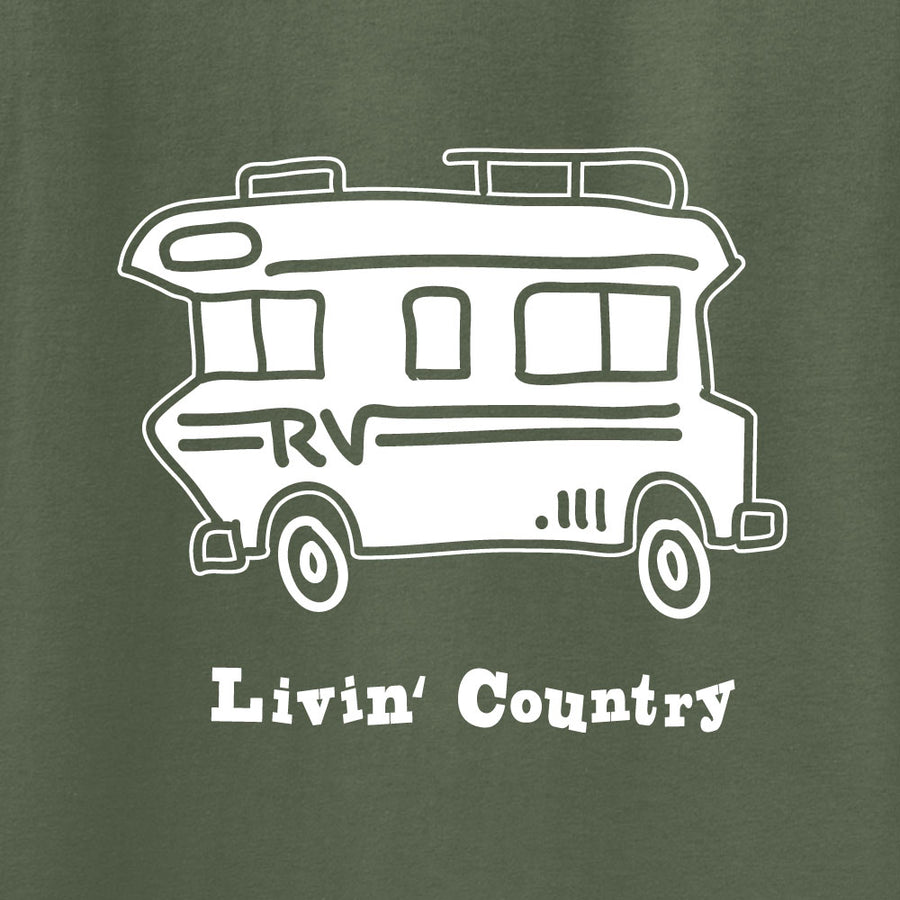 Adult Livin' Country RV Hoodie