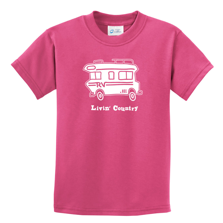 Kid's Livin' Country RV T-shirt