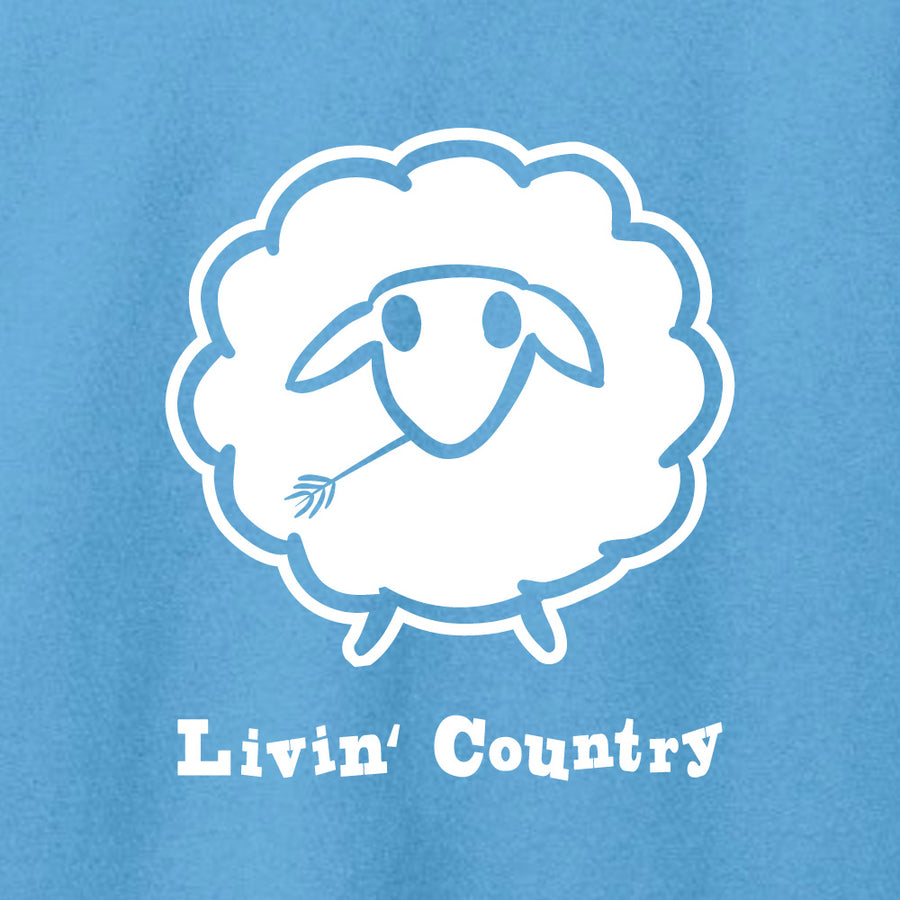 Women's Livin' Country Sheep T-shirt