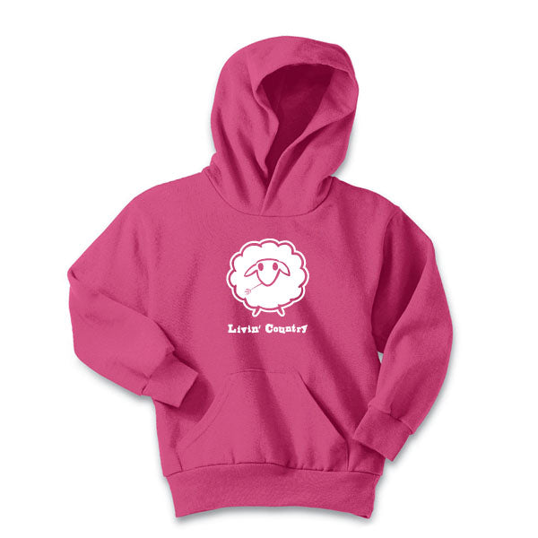Youth Livin' Country Sheep Hoodie