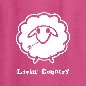 Kid's Livin' Country Sheep T-shirt