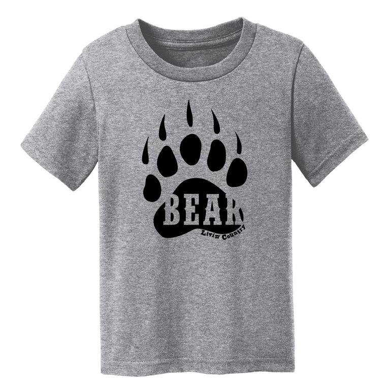 Toddler Livin' Country Bear Track T-shirt